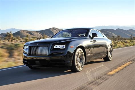 rolls royce wraith black badge  drive