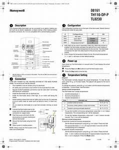Honeywell 8161 Users Manual 08161  Th110 Dp P  Tl8230