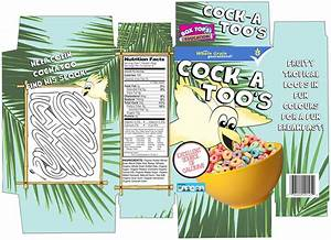 character and packaging design final cereal box net With design your own cereal box template
