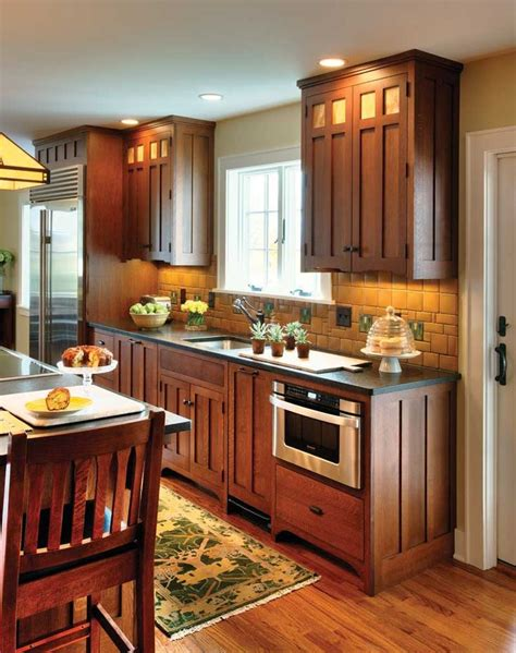 mission style kitchens ideas  pinterest craftsman style kitchens mission style