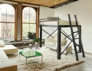Doppel Hochbett Für Erwachsene : hochbett f r erwachsene herausforderung oder praktische einrichtung metall hochbett ~ Bigdaddyawards.com Haus und Dekorationen