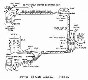 Tailgate Window Limit Switch Restoration