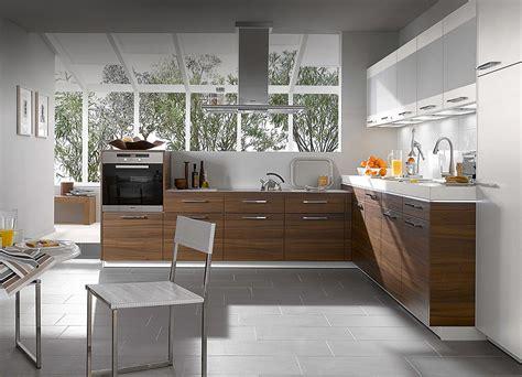 Walnut Compact Kitchen Design  Stylehomesnet