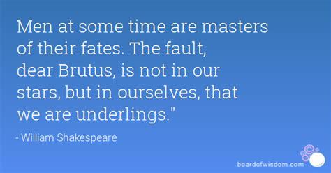men   time  masters   fates  fault