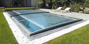 Fabriquer Un Abri De Piscine : abri piscine plat le mans design ~ Zukunftsfamilie.com Idées de Décoration