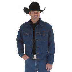 Wrangler Mens Western Unlined Denim Jacket
