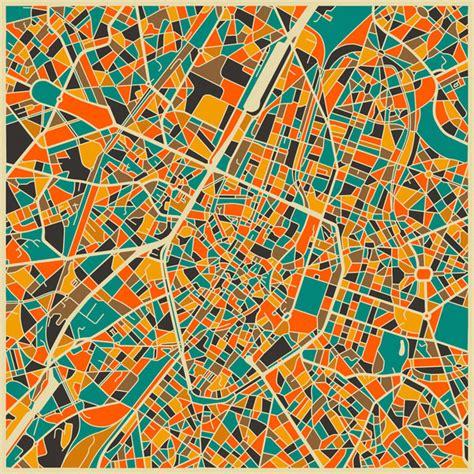 city maps  jazzberry blue socks