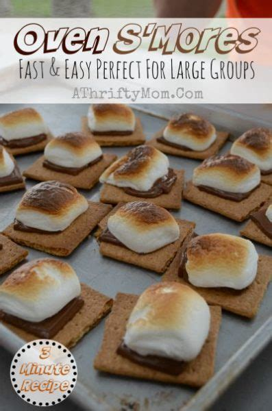 oven smores oven s mores made in less than 3 minutes a recipe every family should make