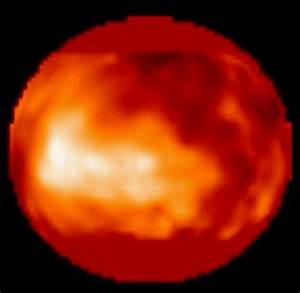 APOD: October 21, 1995 - A Glimpse of Titan's Surface