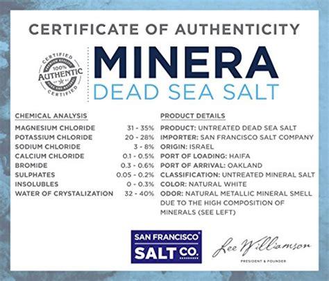 salt l benefits minera dead sea salt 5lbs bulk grain