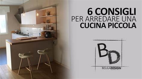 arredare piccola cucina 6 consigli per arredare cucina piccola belula design