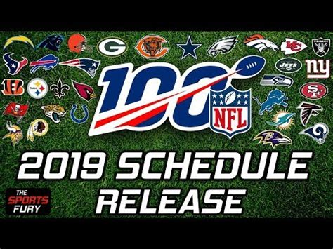 nfl schedule release reactions youtube