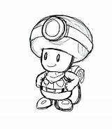 Toad Coloring Pages Mario Super Printable Getcolorings Print Getdrawings sketch template
