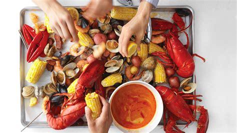 clambake  seafood boil recipes martha stewart