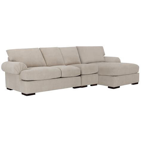chaise microfibre city furniture belair lt taupe microfiber small right