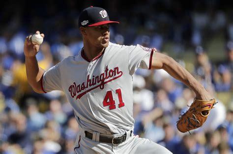 nationals washington dodgers game pitcher ross joe mlb nats postseason wtop baseball national division email