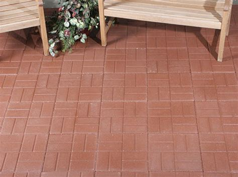 Patio Blocks by 12 Quot X 12 Quot Brickface Patio Block At Menards 174