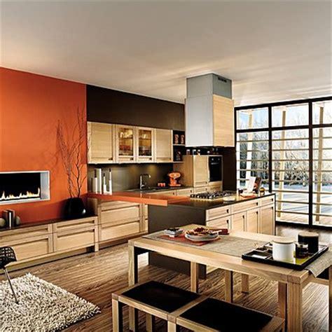 peinture salon cuisine ouverte déco cuisine ouverte sur salon