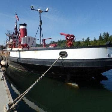 Fireboat For Sale by Commercial Boat Retired Seattle Fireboat 1927 For