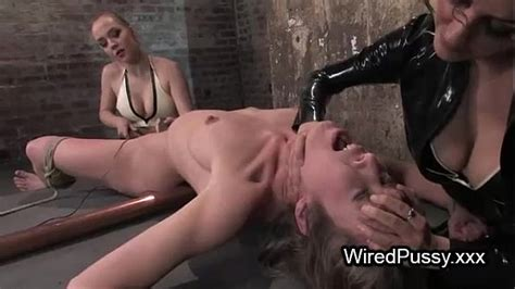 Bdsm Brunette Babe Waxed And Tortured With Electricity In