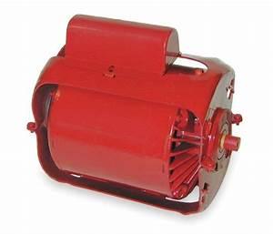 1  3 Hp  1725 Rpm  115  230v Bell  U0026 Gossett Electric Motor   111042