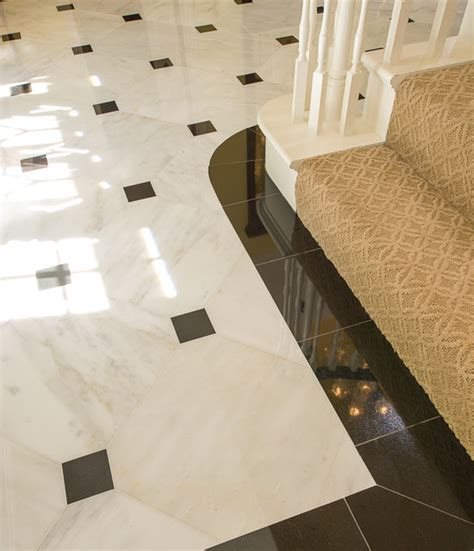 marble foyer traditional dallas by american tile stone