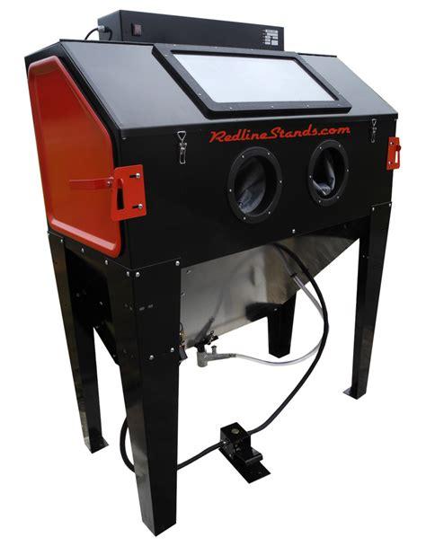 sand blast cabinet redline re48 abrasive sand blasting cabinet free shipping