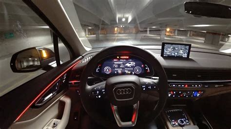 audi   premium  pov night drive binaural