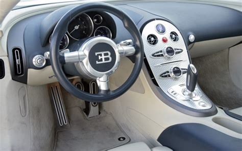 Canvas, glossy, semiglossy, matte, laminated; Bugatti: Bugatti Veyron Interior