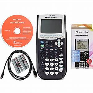 Texas Instruments Ti 84 Plus Graphing Calculator With