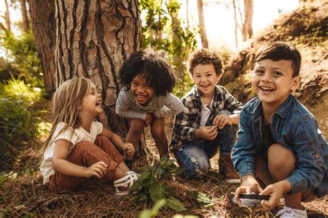 kinder haben mehr erlebnisse  der natur als noch vor