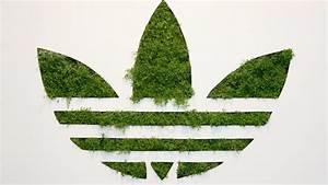 Green White Adidas Logo | Car Interior Design