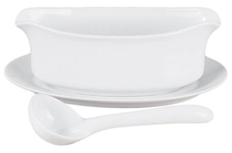 White Gravy Boat With Attached Saucer by Best In Gravy Boats Helpful Customer Reviews