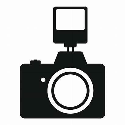 Camera Vector Flash Clipart Film Slr Clip