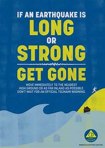 If An Earthquake Is Long Or Strong  Get Gone