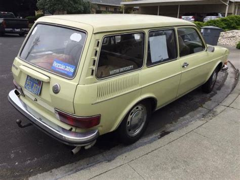 1971 Vw 411 Squareback (type 4)