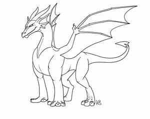 Free Dragon Outlines II by suzidragonlady on DeviantArt