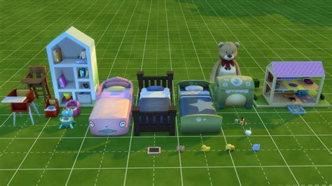 The Sims 4: Toddlers Update Buy/Build Items Overview