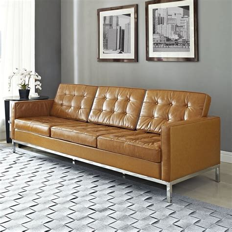 rooms to go sectional sofa reviews shop modway loft leather sofa at lowes com