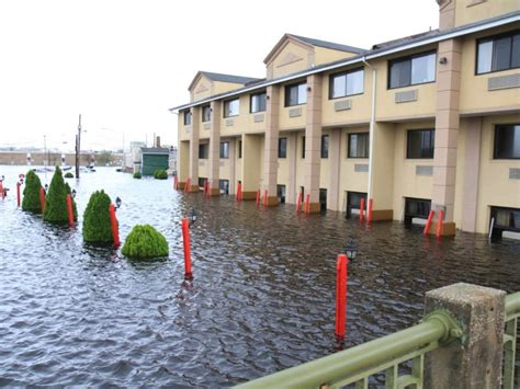 hurricane sandy  downtown toms river toms