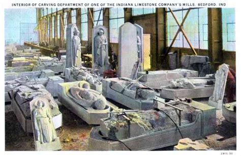 Terre Haute Postcards  Indiana Limestone (4