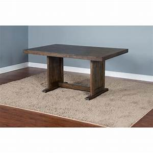 Sunny designs homestead table with 2 benches furniture for Homestead furniture and appliances