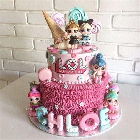 modelos de bolo das bonecas lol
