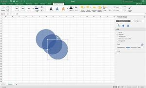 Creating A Venn Diagram In Excel