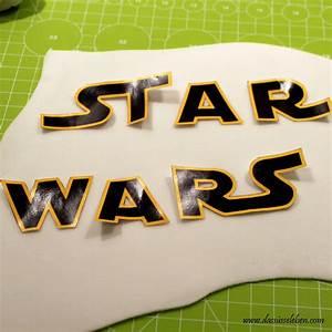 Star Wars Schriftzug : rezept star wars torte mit yoda das s e leben ~ A.2002-acura-tl-radio.info Haus und Dekorationen