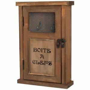 Boite A Cle : chemin de campagne bo te cl clef murale en bois pas cher achat vente armoires cl s ~ Teatrodelosmanantiales.com Idées de Décoration