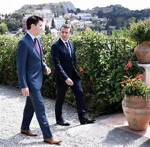 G-7-Gipfel auf Sizilien: Macron, Trudeau und ihr Traum ...