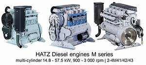 Other Tractor Publications Hatz Diesel Engine 1b20 1b30 Parts Manual Agriculture  Farming