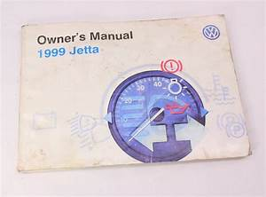 1999 Vw Jetta Owners Manual Books  U0026 Case 93-99 Vw Volkswagen Mk3