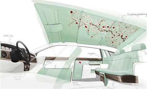 customized rolls royce interior rolls royce serenity gets custom silk interior autoguide